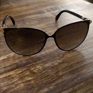Jimmy Choo Juliet Black Sunglasses